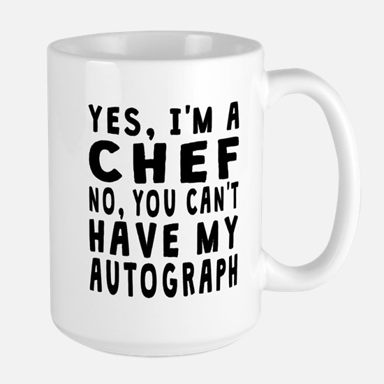 Chef Autograph Mugs