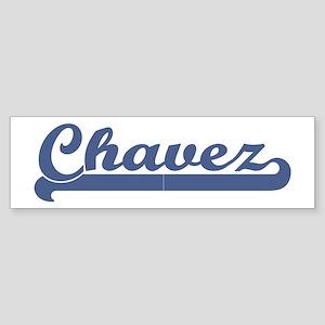Chavez (sport-blue) Bumper Sticker
