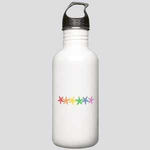 Rainbow Starfish Water Bottle