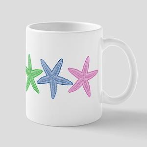 Rainbow Starfish Mugs