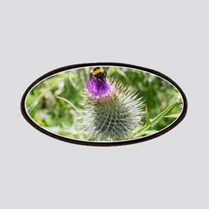 The Bee and the Thistle Patch