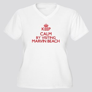 Keep calm by visiting Marvin Bea Plus Size T-Shirt