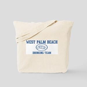 WEST PALM BEACH drinking team Tote Bag