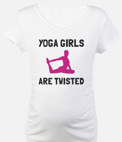 Yoga girls are twisted Shirt