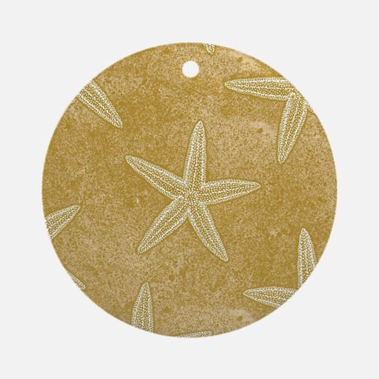 Sand Starfish Ornament (Round)
