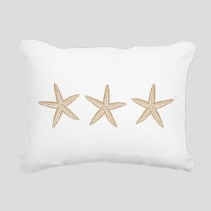 Sand Starfish Rectangular Canvas Pillow