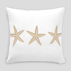 Sand Starfish Everyday Pillow