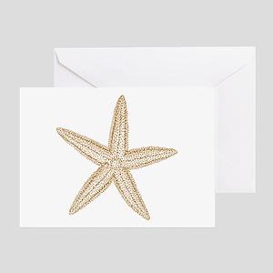 Sand Starfish Greeting Card