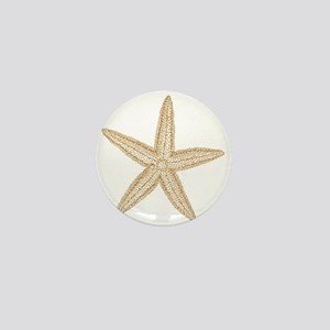 Sand Starfish Mini Button