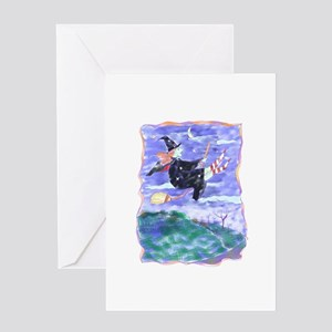 Witch Watercolor Greeting Card