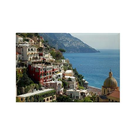 Amalfi Coast Rectangle Magnet
