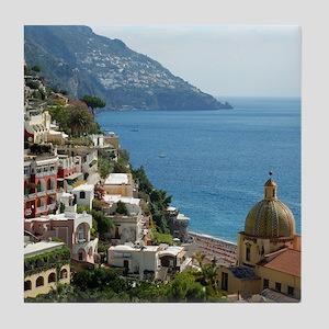 Amalfi Coast Tile Coaster