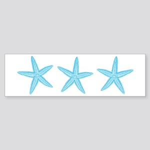Aqua Blue Starfish Sticker (Bumper)