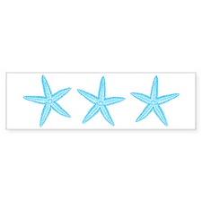 Aqua Blue Starfish Sticker (Bumper)