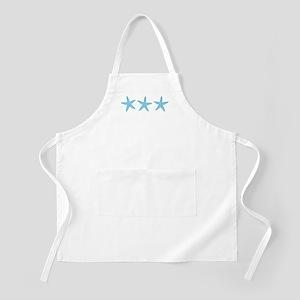 Aqua Blue Starfish Apron