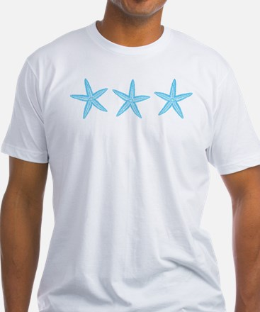 Aqua Blue Starfish Shirt