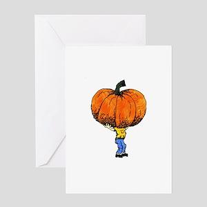 Great Pumpkn Greeting Card