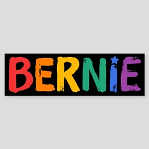 Bernie Fun Rainbow Bumper Sticker