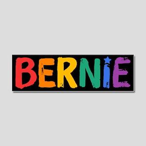Bernie Fun Rainbow Car Magnet 10 x 3