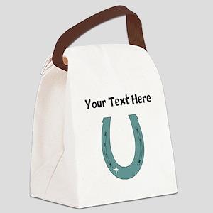 Horseshoe (Custom) Canvas Lunch Bag