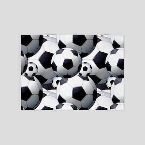 Soccer Fan 5'x7'Area Rug