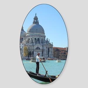 Venice Oval Sticker
