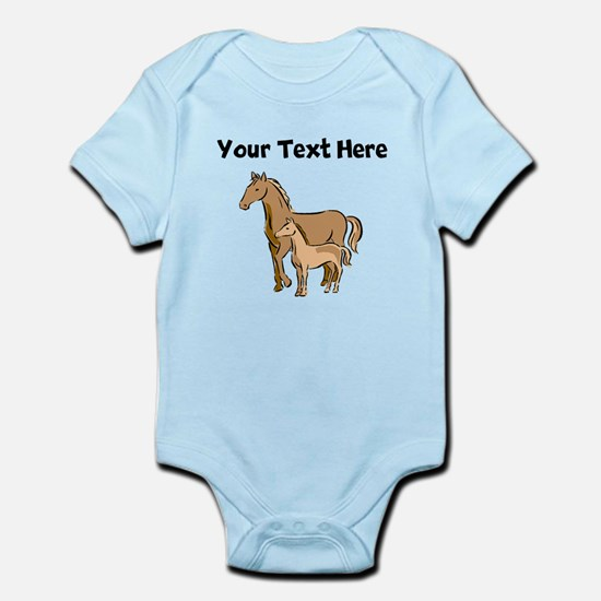 Horse And Foal (Custom) Body Suit