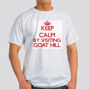 Keep calm by visiting Goat Hill Massachuse T-Shirt