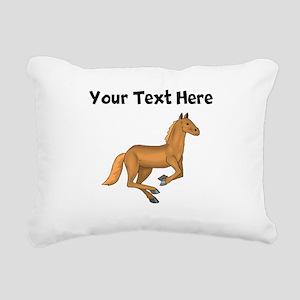Pony (Custom) Rectangular Canvas Pillow
