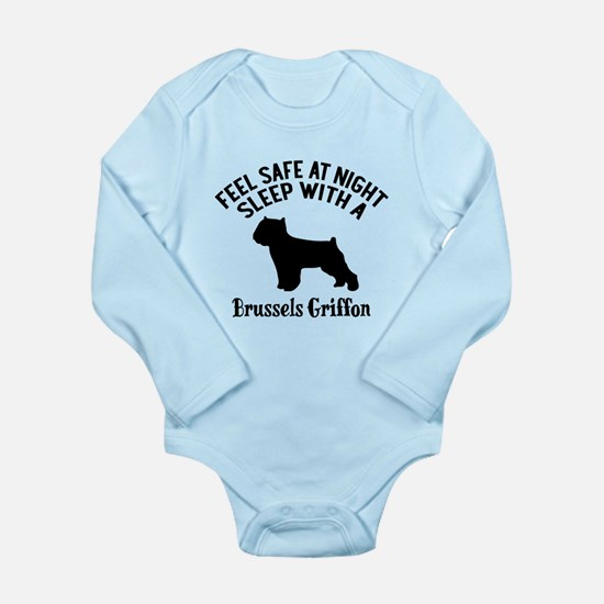 Sleep With Brussels Gr Long Sleeve Infant Bodysuit