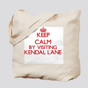 Keep calm by visiting Kendal Lane Massach Tote Bag