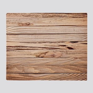 western country barn wood Throw Blanket