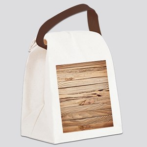 western country barn wood Canvas Lunch Bag