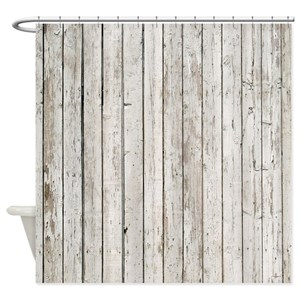 Barn Wood Shower Curtains