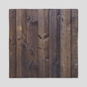 western country barn wood Queen Duvet