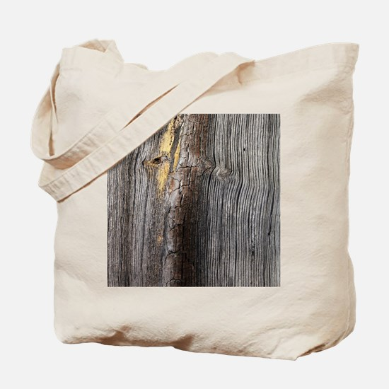 rustic primitive grey barn wood Tote Bag