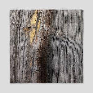 rustic primitive grey barn wood Queen Duvet