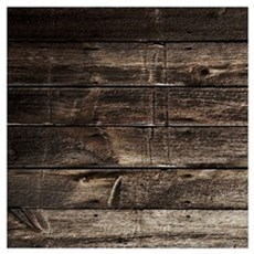 rustic primitive grey barn wood Poster