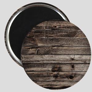 rustic primitive grey barn wood Magnet