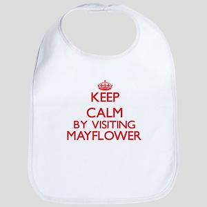 Keep calm by visiting Mayflower Massachusetts Bib