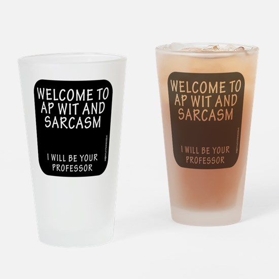 PEKEGRAPHICS LIFE LESSONS Drinking Glass