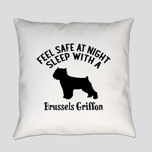 Sleep With Brussels Griffon Dog De Everyday Pillow