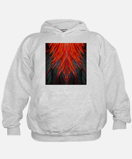 Abstract Feathers Hoody