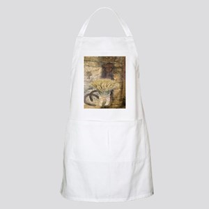 barn wood wheat horseshoe  Apron