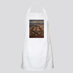 western horseshoe texas star Apron