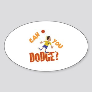 Can You Dodge? Sticker