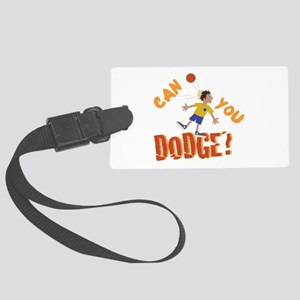 Can You Dodge? Luggage Tag
