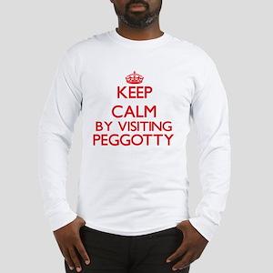 Keep calm by visiting Peggotty Long Sleeve T-Shirt