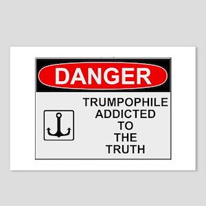 Danger Trumpophile Postcards (Package of 8)