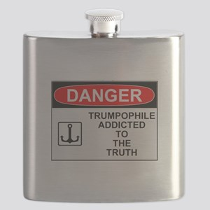Danger Trumpophile Flask